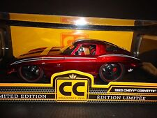 Jada Chevrolet Corvette Stingray 1963 Candy Red 1/18 Limited Edition