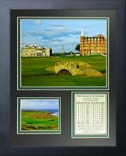 11x14 FRAMED OLD COURSE AT ST. ANDREWS EST. 1552 8X10 GOLF PHOTO SCOTLAND