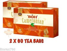 BOH Plantation CAMERONIAN GOLD BLEND ORIGNAL TEA COMBO PACK 2 X 60 TEA BAGS