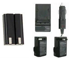 NP-800 Battery + Charger for Konica Minolta DiMAGE A200 Digital Camera
