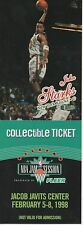 1998 NBA ALL-STAR JAM COLLECTIBLE TICKET - JOHN STARKS