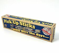 Pick up Sticks Traditional Game of Spillikins Wood with Storage Box NEW