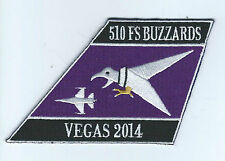"510th FIGHTER SQUADRON  BUZZARDS ""VEGAS 2014"" patch"