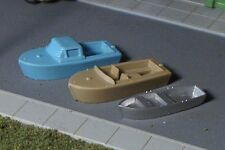 3 Water line  BOATS N Scale Vehicles