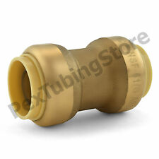 """3/4"""" Sharkbite Style (Push-Fit) Push to Connect Lead-Free Brass Coupling Fitting"""