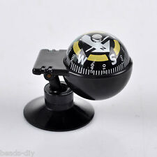 BD New HOT! Car Vehicle Floating Ball Magnetic Navigation Compass Black