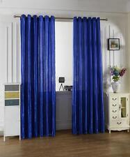 Modern Eyelet Curtain Window Door Blockout Drape Panel 100cmx200cm Blue