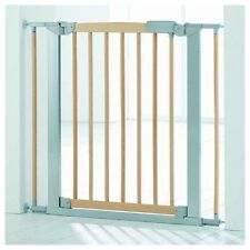 Pressure Fit Safety Gate Avantgarde Indicator naturale/argento Baby Dan
