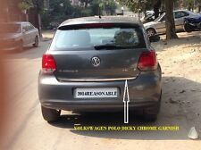 car dicky chrome garnish for VOLKSWAGEN POLO