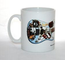 Guitar Mug. Billie Joe Armstrong's Fernandes Stratocaster 'Blue'