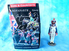 "King & Country retired - NA034 Grenadier français au ""garde à vous"""