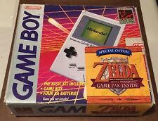 Nintendo Game Boy System Set - Zelda Link's Awakening Bundle Complete CIB Boxed