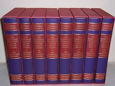 Folio Society Barbarian Invasions of the Roman Empire 8 vols by Thomas Hodgkin