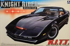 Pontiac Transam Knight Rider Season 4 K.I.T.T. 1:24 Model Kit KITT Aoshima 41307