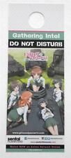 BRAND NEW  Door Knob Tag  Girls Panzer Do Not  Disturb / Panzer Vor!