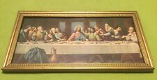 Vintage ~ Religious Art ~ The Last Supper ~ De Vinci