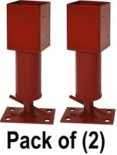 """(2) Tiger / Jack Post S301944PC 4"""" Adjustable Temporary Shoring / Shore Up Jack"""