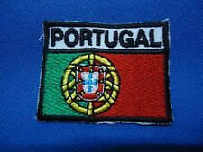 PORTUGAL PORTUGUESE ARMY MILITARY FLAG PATCH 47mm