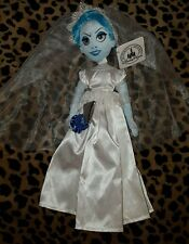"Disney Parks Haunted Mansion Ghost Bride Constance 14"" Doll Plush New with Tags"