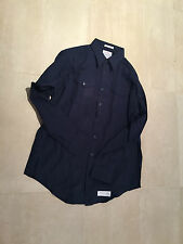 military shirt , navy/uscg, xxl ,18neck /38 sleeve , new old stock, poly/wool