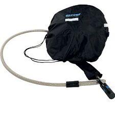 Oxford Lid Locker Essential Lockable Helmet Bag Motorcycle Luggage Pack Black