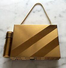 Vintage Make-up Cigarette Case~Purse w Lipstick~Comb~Mirror~Blush Compartment #2
