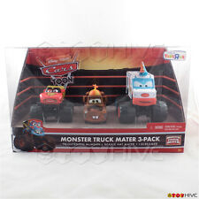Disney Pixar Cars Toon Monster Truck Mater 3-Pack McMean Beanie Mater I-Screamer