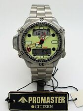 Vintage CITIZEN Promaster Aqualand II JP1010-51W Diver C500-E80338 Box & Papers