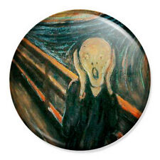 "The Scream 25mm 1"" Pin Badge Button Classic Art Painting Edvard Munch"