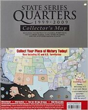 HE Harris & Co. STATE SERIES QUARTERS 1999-2009 Collector's Map Album NEW