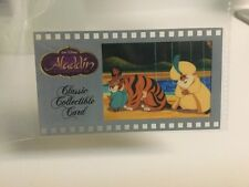 ALADDIN Walt Disney Classic Collectible Cell Card  No 145 WDCCCC Film Cel Card