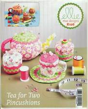 KWIK SEW SEWING PATTERN 126 ELLIE MAE PIN CUSHION/PINCUSHION TEAPOT CUPS CAKE