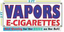 VAPORS CIGARETTES Full Color Banner Sign Smoke Shop  C STORE