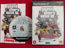 GRAND THEFT AUTO III ORIGINAL BLACK LABEL SONY PLAYSTATION PS2 PAL