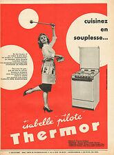 Publicité 1965  Cuisinière THERMOR