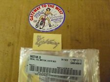 BUELL, DECAL, TAIL SECTION, WHITE BOD,  P/N#M0748.G.#