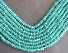 "12"" STRAND GREENISH APATITE BEADS FACETED RONDELLE 4.5 - 5 MM GMESTONE#3476"