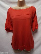 BNWT NEXT NEW LADIES 2 part vest & short sleeve slouch jumper SET size 10/12