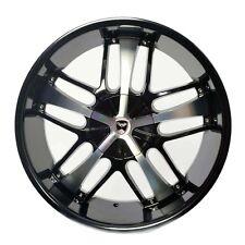 4 GWG Wheels 20 inch Black SAVANTI Rims fits 5x110 ET35 PONTIAC G6 GT CONVERTIBL