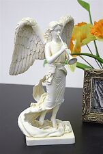 Archangel Gabriel with Trumpet Christian Religion Collectible Statue A-033S