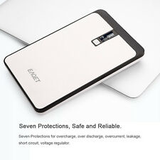 Eaget 32000mAh Portable External Battery Dual USB Power Bank For Laptop PC Phone