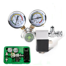 Aquarium Dual Gauge CO2 System Regulator w/ Magnetic Solenoid Bubble Counter