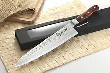 Japanese VG-10 Hammered 67 Layers Damascus Gyuto Chef Chef knife 10.5 in vs SHUN