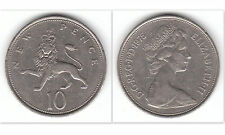 United Kingdom 1975 10p Pence Copper-Nickel Coin