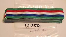Medalla banda francia 26mm x ca 12cm, ca 25 unidades (sw250)
