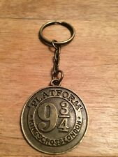 Harry Potter - Platform 9 3/4 Keyring (Bronze)