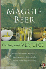 Cooking with Verjuice  by Maggie Beer  (Paperback, 2003)