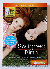 Switched at Birth Volume 1 Deaf ASL Teenage High-school Drama T.V. Series on DVD