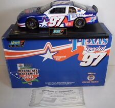 1ST 1997 TEXAS MOTOR SPEEDWAY FORT WORTH TEXAS INAUGURAL CAR 1:18 NASCAR REVELL