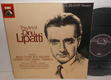 RLS 749 Bach Scarlatti Mozart Ravel Chopin The Art Of Dinu Lipatti 4LP Box Set
